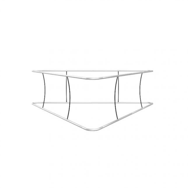 Triangular hanging structure framework