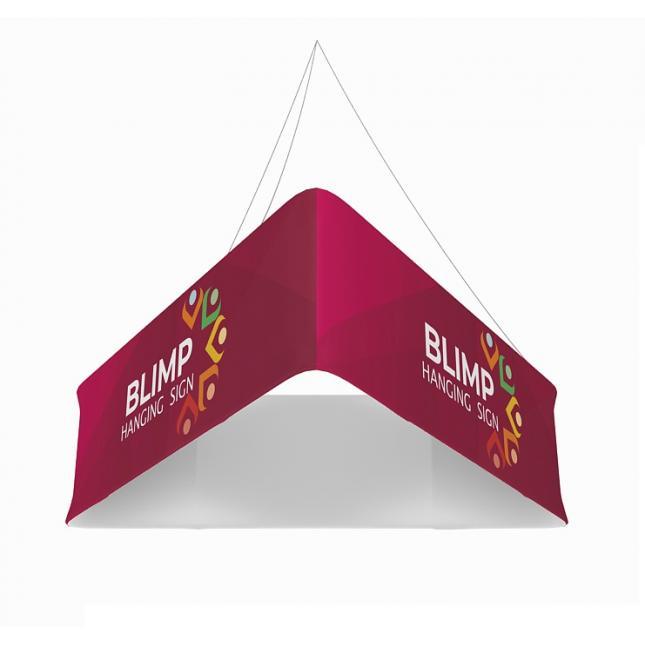 2.4m triangular hanging structure