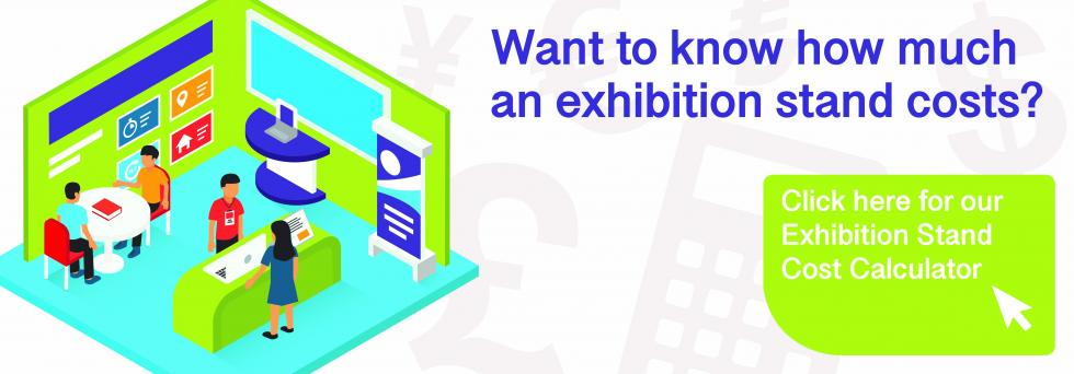 How much does an exhibition stand cost