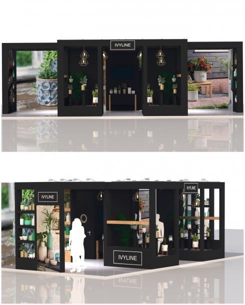 Ivyline Exhibition Stand Design