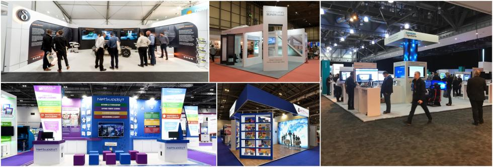 Bespoke exhibition stand ideas
