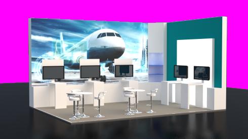 Siemens TCT exhibition stand