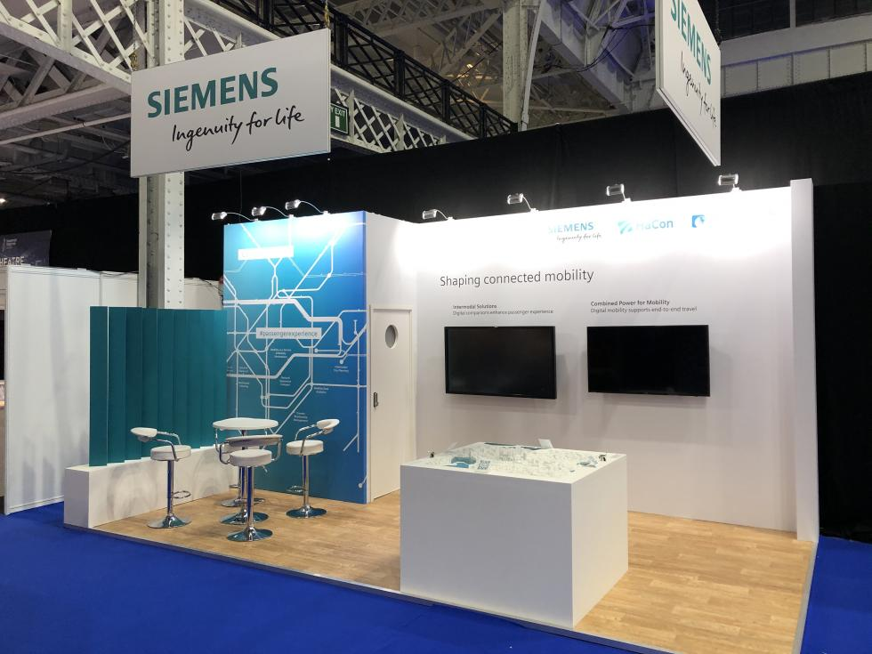 Siemens Mobility Exhibition Stand
