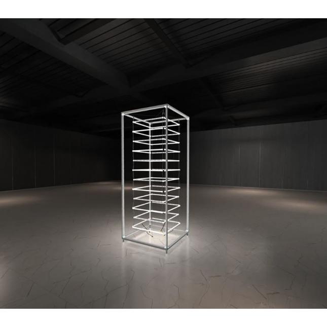 2.5m Lightbox Display Tower Framework