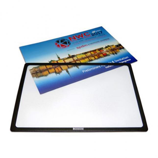 A3 Counter Mat Black Boarder