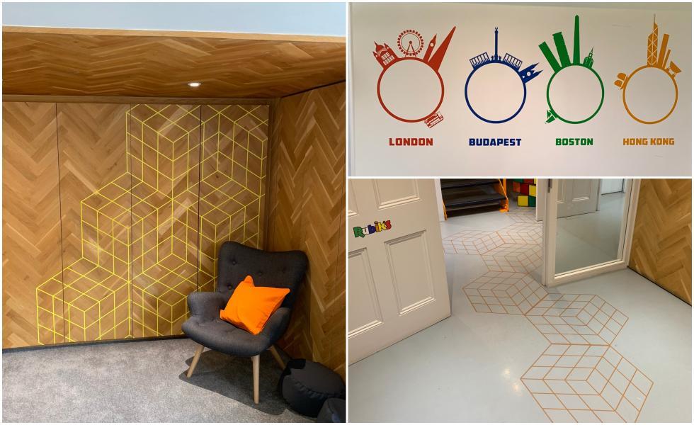 Rubik's office graphics