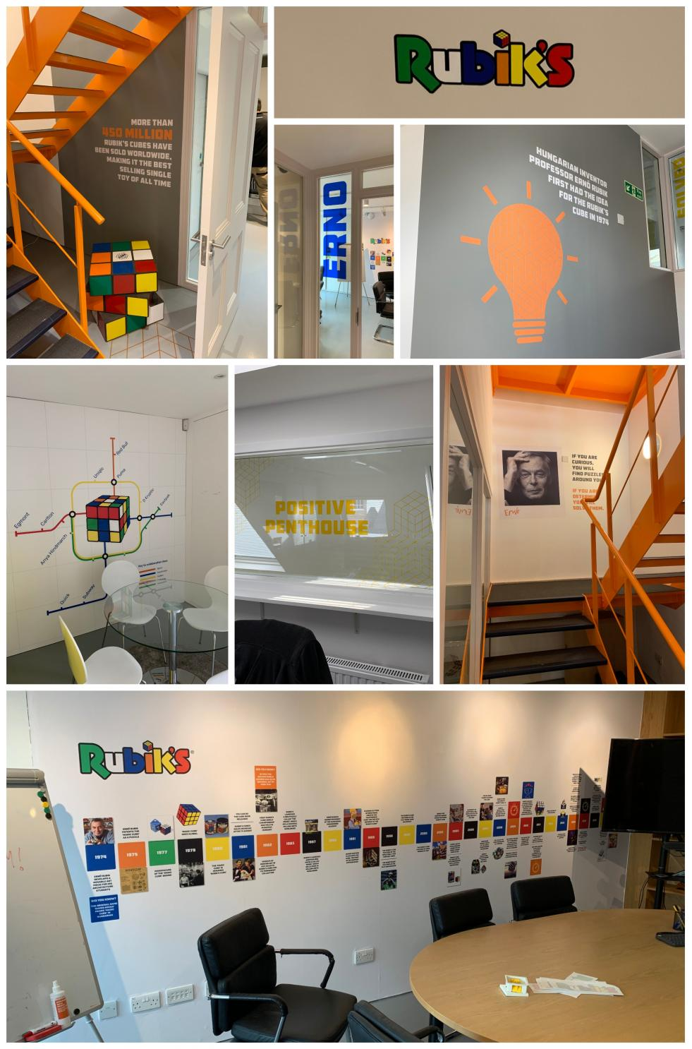Rubik's Office Branding