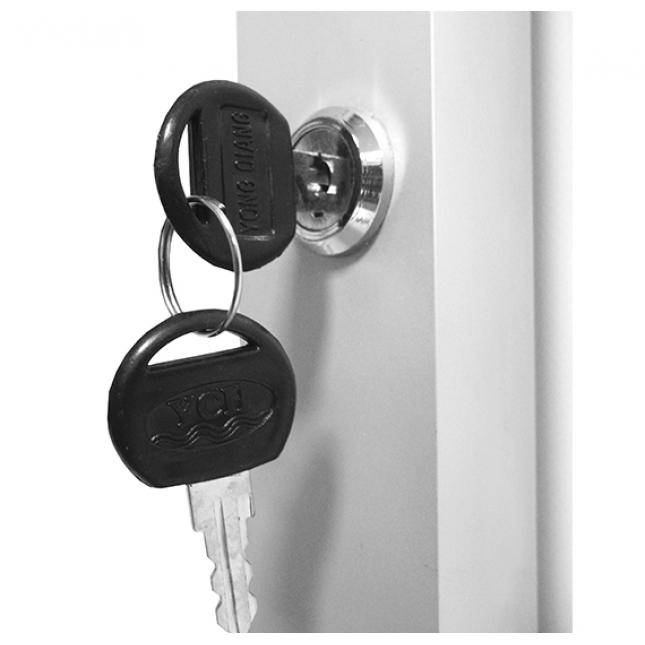 Slimlok poster case lock
