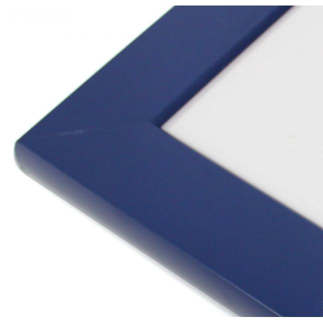 Blue Wall Mounted Slimlok Poster Case