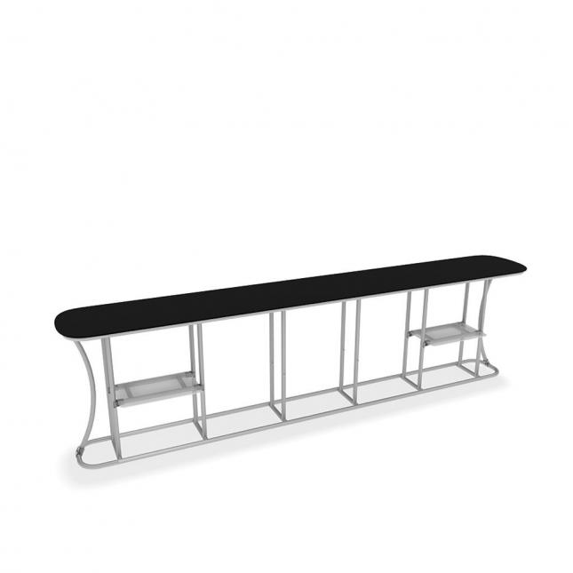 Extra large promotional counter hardware