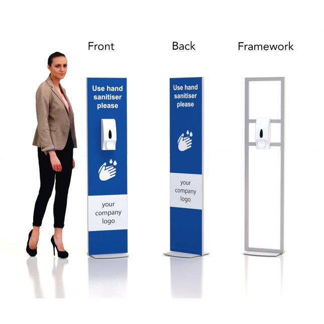 Floor Stand Hand Sanitiser Dispenser