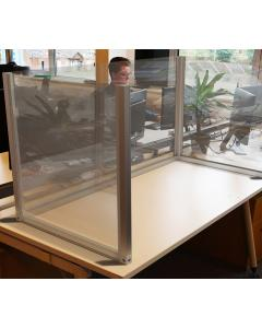Acrylic Desk Dividers U Shaped