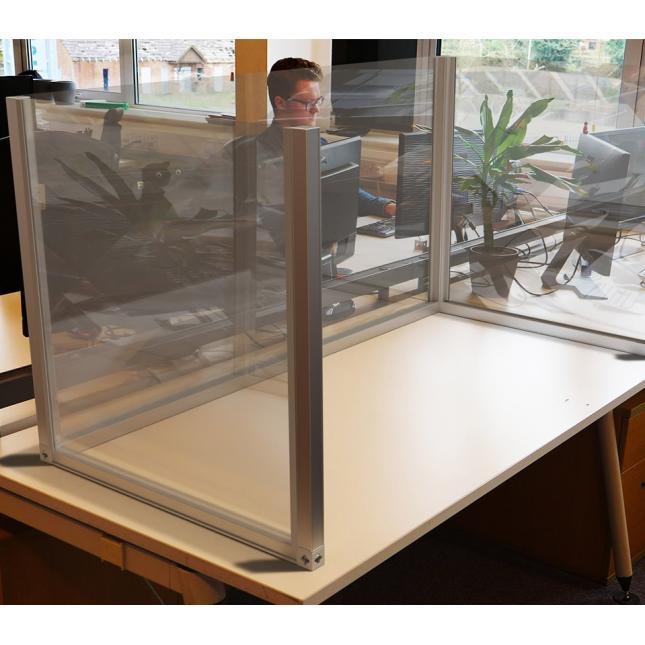 Acrylic Desk Dividers U Shape for Social Distancing