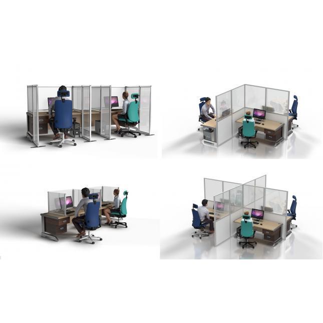 Configuration options for acrylic desktop partitions
