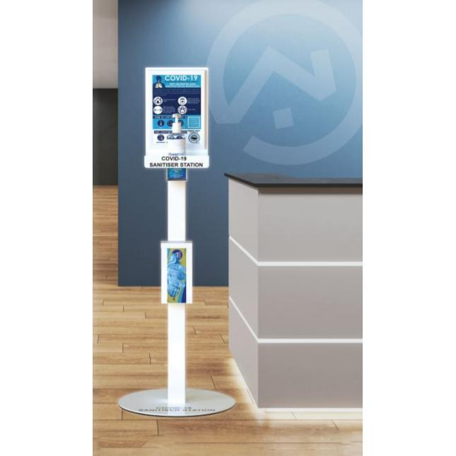 Sanitiser station for offices