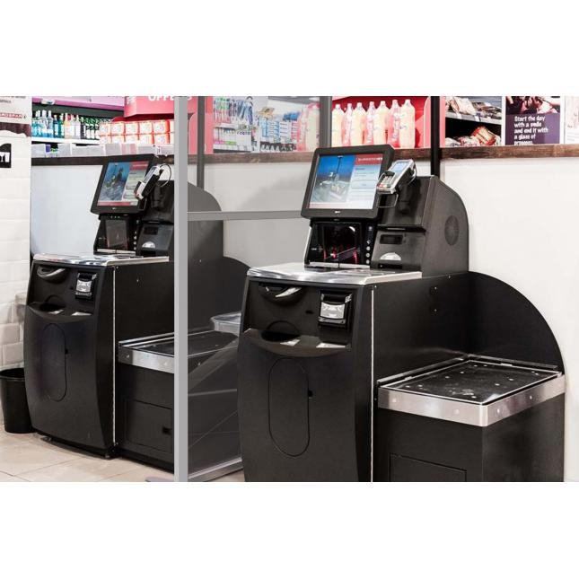 Retail screens for social distancing in shops