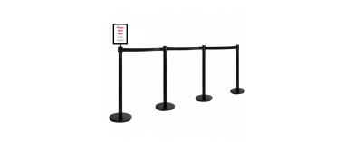 Queue Management Barriers