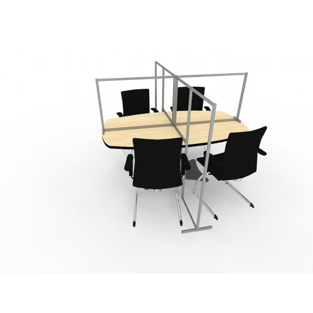 Meeting table screens