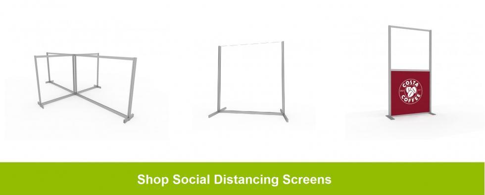 Shop Social distancing screens