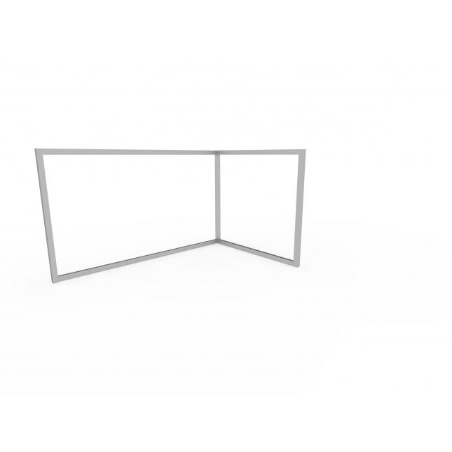 L shape acrylic screen for social distancing