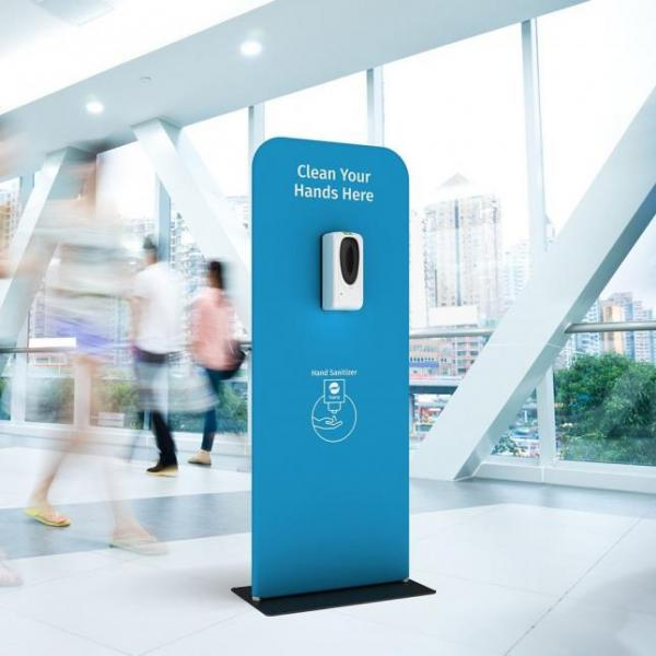 Automatic hand sanitiser stand