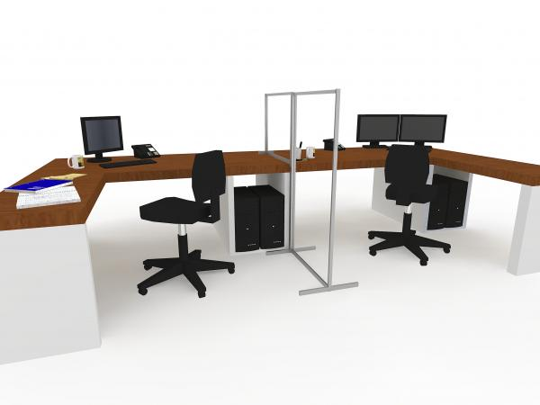Office screens for desks