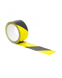 Yellow and Black Floor Tape