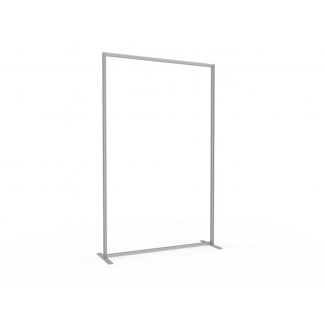 1.2m floor standing acrylic screen