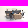 Desk divider extension screen acrylic