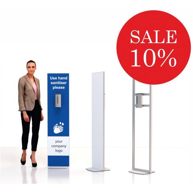 Floor standing sanitiser stand sale social distancing sale