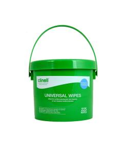 Bucket Clinell Universal Wipes 225