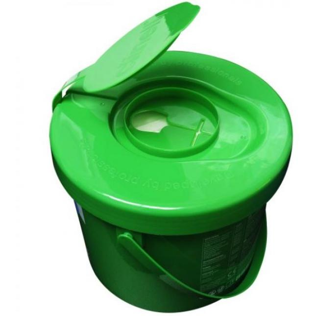 Lid of clinell universal wipes bucket