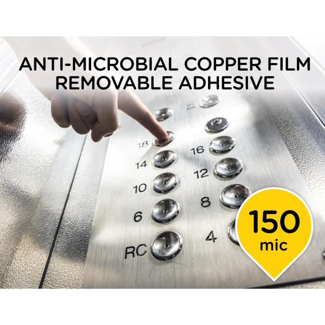 Anit-microbial copper film