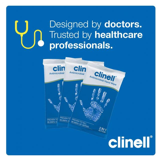 Benefits of Clinell wipes
