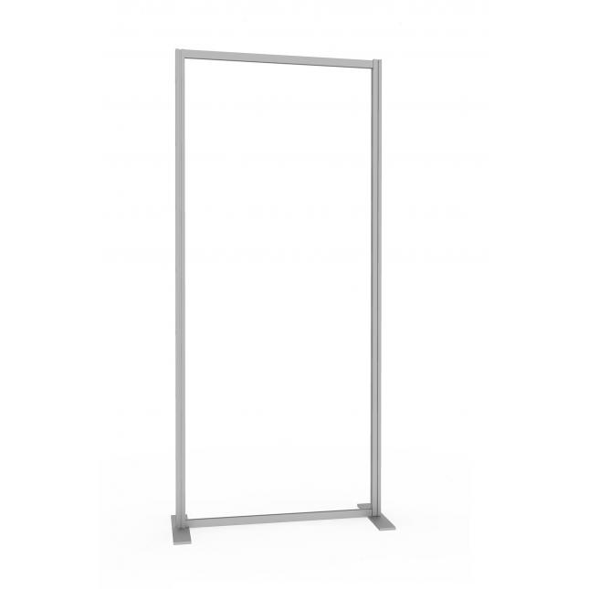 800mm Social distancing screen floor standing acrylic
