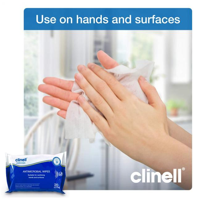 Clinell antibacterial