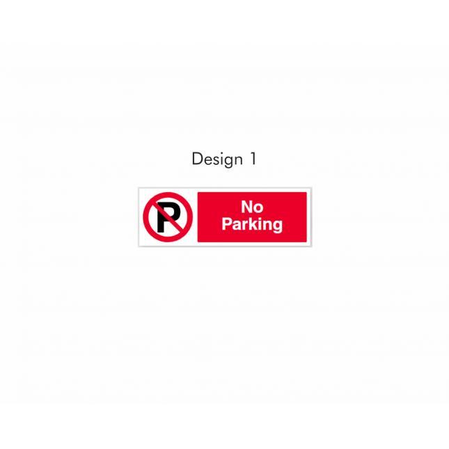Design 1 No Parking sign
