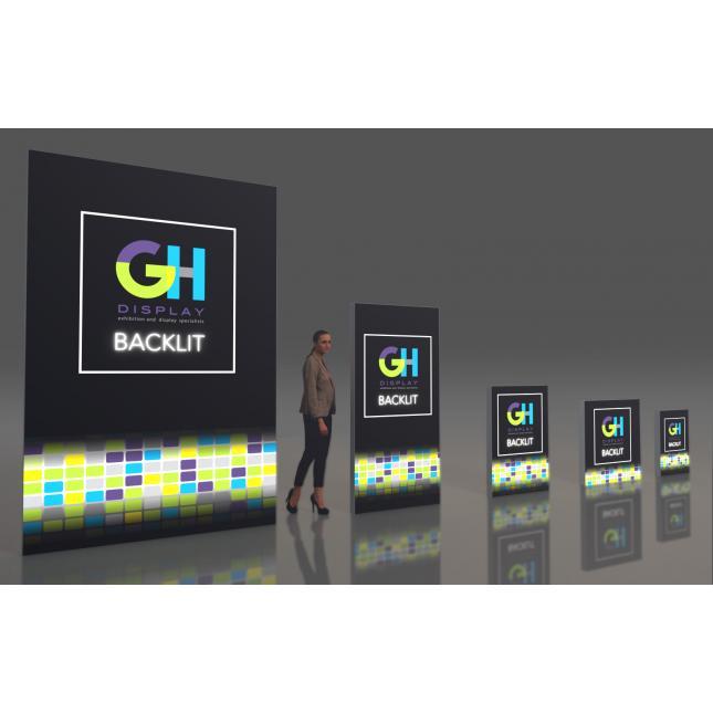 Backlit Lightboxes GH Display