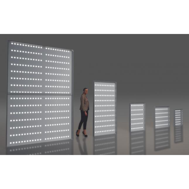 Backlit LEDs for lightboxes
