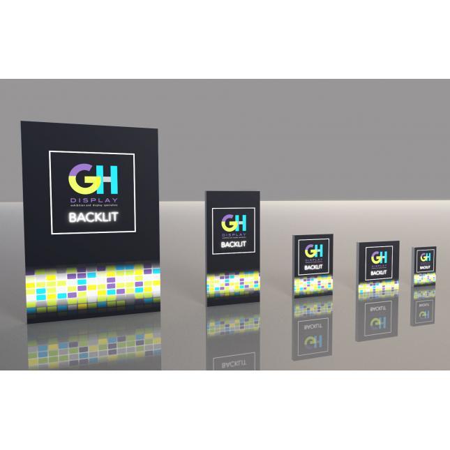 Retail Lightboxes Backlit LEDs