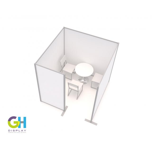 Large COVID Vaccination Booth