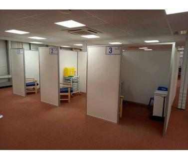 NHS Vaccination Booths