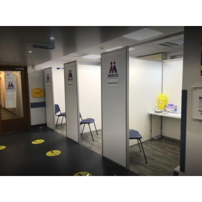 COVID Vaccination Booth Installation UK