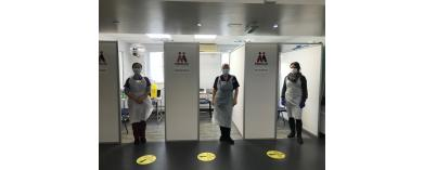 Vaccination Pods for Medicus Health Partners