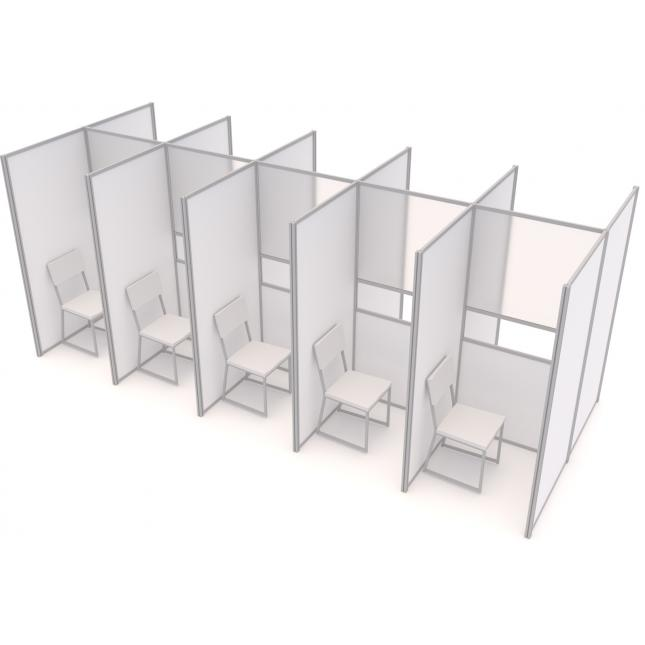 Compact COVID Testing Pods