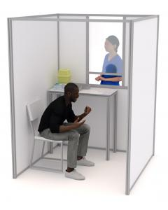 1.5m Self-Build COVID Testing Booths