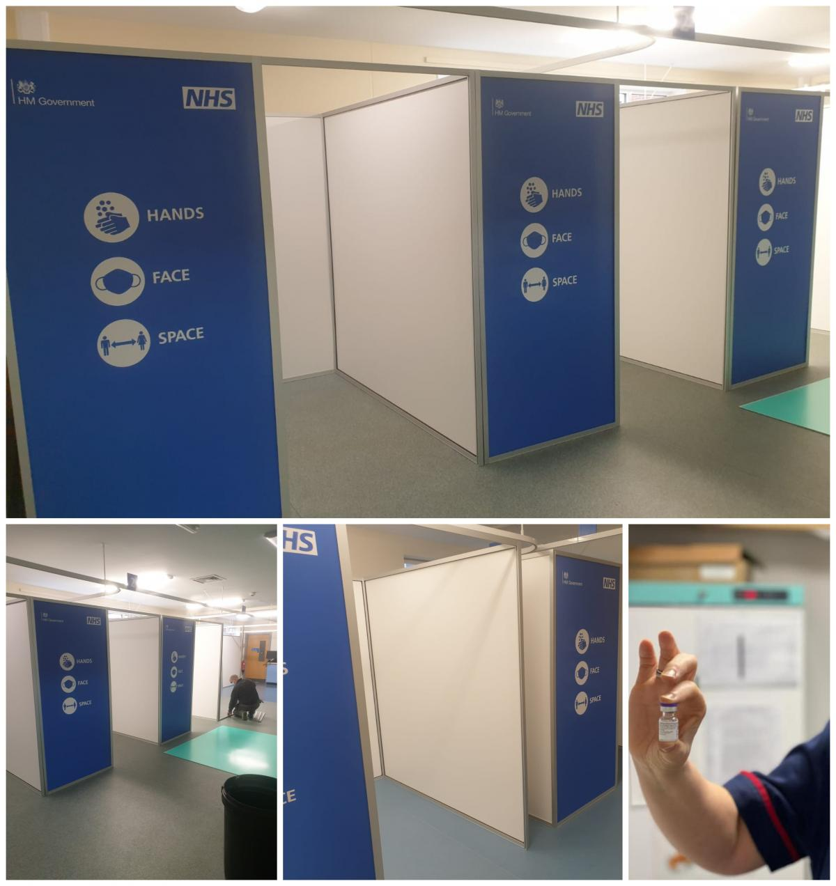 NW London NHS COVID Vaccination Booths