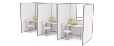COVID-19 Testing Booths