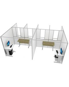 Self Contained COVID Testing Unit