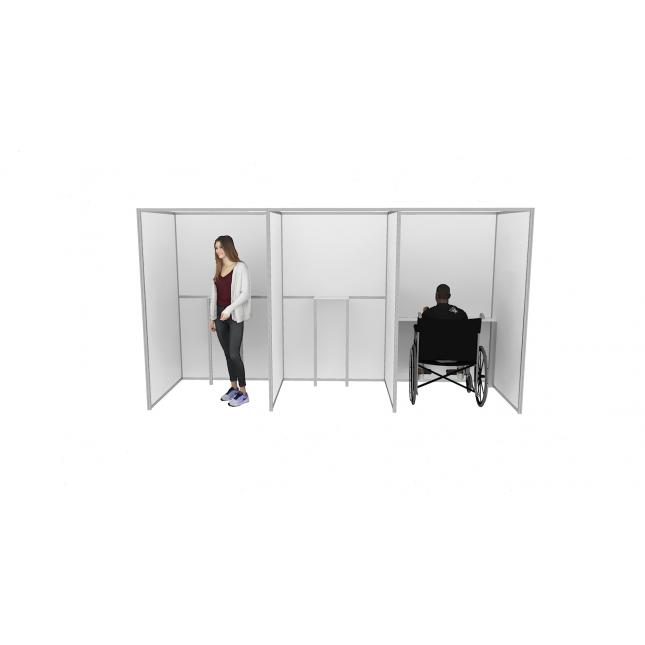 Election Partition Booth